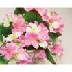 Veilchenstrauß mit 24 Blüten 35x29cm