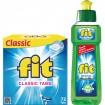 FIT Classic Tabs 72er  XL + Fit Spülmittel 100ml