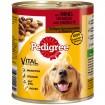 Pet Pedigree 800g Dose mit Rind, Gemüse & Nudeln