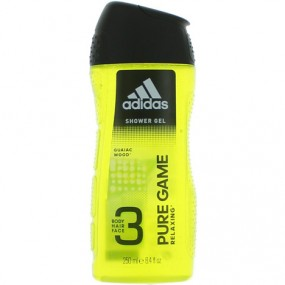 Adidas Dusch 250ml 2in1 Pure Game
