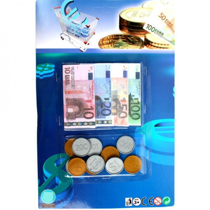Spielgeld Euro Scheine Münzen 36 Tlg 29x19cm Spielwaren
