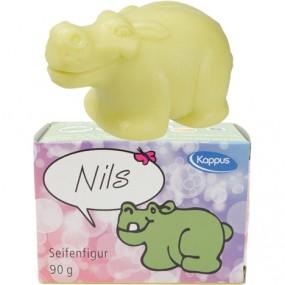 Seife Figur Nilpferd Nils 90g mit Duft
