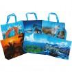 Tasche Einkaufstasche XL mit Motiven 51x41x10cm