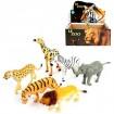 Tiere Zoo XL 6fach sortiert im Display, 14/20cm