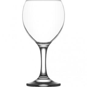 Glas Wein-/Wasserglas 260ml, DM: 6,5cm, H: 16cm