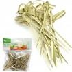 Spieße Bambus mit Knotenoptik 50er , je 7cm lang