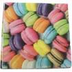 Servietten Premium 20er 33x33cm, 3 lagig Cookies